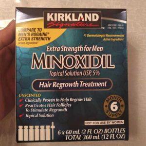 asl minoxidil